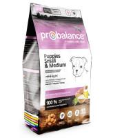 ProBalance Immuno Puppies Small & Medium Корм для щенков мелких и средних пород