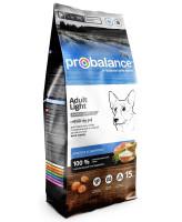 ProBalance Adult Light Корм для собак с низкой и нормальной активностью 15кг