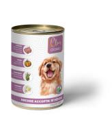 CLAN CLASSIC консервы для щенков Мясное ассорти 340г