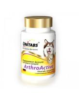 Unitabs ArthroActive Витамины для поддержания функции суставов и хрящей собак всех возрастов 100таб.