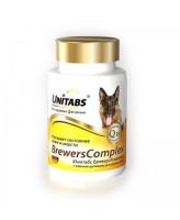 Unitabs BreversComplex Витамины с пивными дрожжами для крупных собак всех возрастов 100таб.