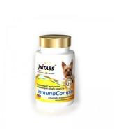 Unitabs ImmunoComplex Витамины для поддержания иммунитета мелких собак всех возрастов 100таб.