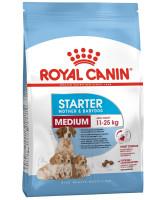 Royal Canin  Medium Starter Корм для щенков средних пород до 2мес