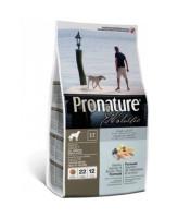 Pronature Holistic корм для собак всех пород для кожи и шерсти Лосось с рисом