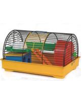 INTERZOO Клетка для грызунов GRIMM I +PL, цветная 37*25*21см