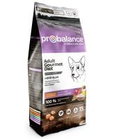 ProBalance Gourmet Diet Adult Beef&Rabbit Корм для собак всех пород с Говядиной и Кроликом 15кг