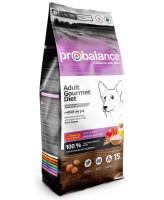 ProBalance Gourmet Diet Adult Beef&Lamb Корм для собак всех пород с Говядиной и Ягненком 15кг