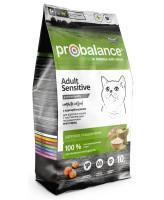 ProBalance Sensitive Корм для кошек с чувствительным пищеварением с курицей и рисом