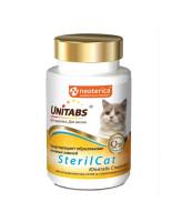 Unitabs SterilCat Витамины для кастрированных и стерилизованных кошек 120таб.