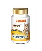 Unitabs ImmunoCat Витамины для кошек с таурином 120таб.