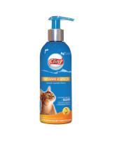 Cliny Шампунь-кондиционер для короткошерстных кошек Питание и блеск 200мл