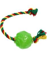 Doglike Мяч Космос с канатом для собак 6,2см D12-3901-GR