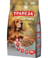 Трапеза Оптималь корм для собак, содержащихся в городских условиях 10кг