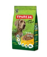 Трапеза Ягненок с рисом корм для собак Гипоаллергенный 10кг