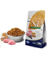 Farmina N&D ANCESTRAL GRAIN Низкозерновой корм для кошек Ягненок, черника, спельта, овес