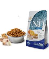 Farmina N&D OCEAN Низкозерновой корм для кошек Треска, апельсин, спельта, овес