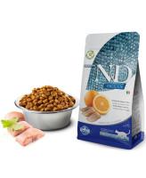 Farmina N&D OCEAN Беззерновой корм для кошек Сельдь с апельсином