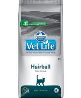Farmina Vet Life Hairball Диета для кошек для выведения шерстяных комочков