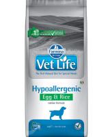 Farmina Vet Life Hypoallergenic Диета для собак при пищевой аллергии, непереносимости Яйцо с рисом