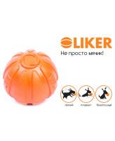Collar Мячик Лайкер для собак 5см оранжевый