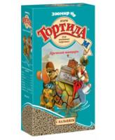 Зоомир Тортила-М Корм Крепкий панцирь для водяных черепах, гранулы с кальцием 90г