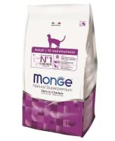 Monge Cat Adult корм для кошек, курица рис