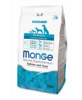 Monge Dog Speciality Hypoallergenic корм для собак гипоаллергенный Лосось тунец