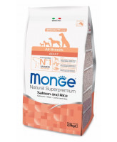 Monge Dog Speciality корм для собак всех пород Лосось, рис