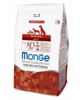 Monge Dog Speciality корм для собак всех пород Ягненок, рис картофель