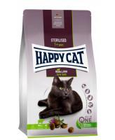 Happy Cat Supreme Sterilised корм для кастрированных кошек Ягненок