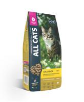 All Cats корм для взрослых кошек с курицей