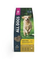 All Dogs корм для собак всех пород с курицей