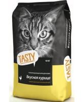 Тasty корм для взрослых кошек Курица 10кг