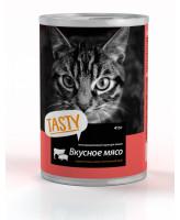 Тasty консервы для кошек Мясное ассорти в соусе 415г