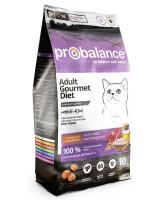 ProBalance Gourmet Diet Beef & Rabbit Корм для кошек с говядиной и кроликом 10кг