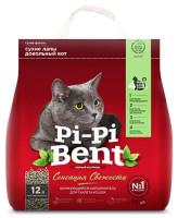Pi-Pi-Bent Сенсация свежести комкующийся наполнитель