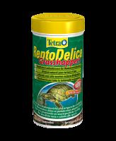 Tetra ReptoDelica Grasshopers натуральное лакомство для водных черепах Кузнечики 250мл