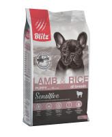 BLITZ Lamb & Rice Puppy Корм для щенков всех пород с Ягненком и рисом