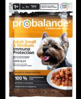 ProBalance Immuno Консервы для собак мелких и средних пород 85гр 25шт