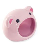 """Triol Домик керамический для грызунов Свинка"""", 7,5*6,5*6,5см"""