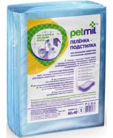 Петмил Пеленки впитывающие одноразовые для животных 60*40см