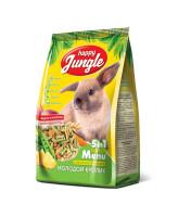 Happy Jungle Корм для молодых кроликов 400г
