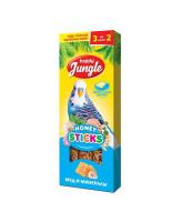 Happy Jungle Палочки для птиц во время линьки Мед и минералы 3шт