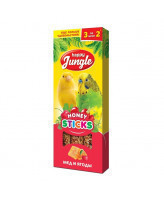 Happy Jungle Палочки для птиц Мед и ягоды 3шт