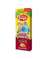 Happy Jungle Палочки для птиц Мед и орехи 3шт