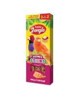 Happy Jungle Палочки для канареек и экзотов Мед и овощи 3шт