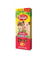 Happy Jungle Палочки для мелких грызунов Мед и ягоды 3шт
