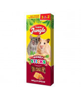 Happy Jungle Палочки для мелких грызунов Мед и орехи 3шт