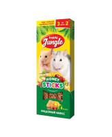 Happy Jungle Палочки для мелких грызунов 3 вкуса Медовый микс 3шт