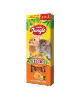 Happy Jungle Палочки для кроликов, шиншилл и морских свинок Мед и фрукты 3шт